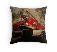 fine fins from the fifties Throw Pillow