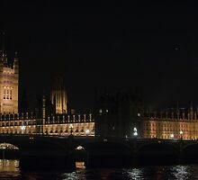 Westminster London @ Night by mike1242
