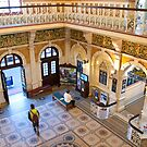 Interior of Dunedin Railway Station by pennyswork