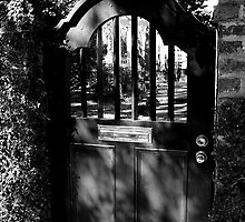 The Door - Black and White Series by Paulette1021