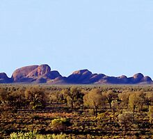 Kata Tjuta by Christopher Biggs