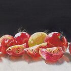 Cherry Tomatoes by Janet Rawlings