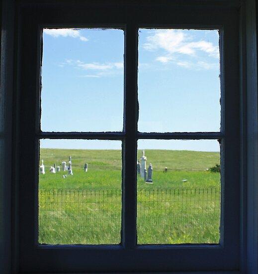 Through the Window of my Soul IV by Rachel Sonnenschein