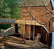 Stone Mountain Mill by Terry Huey