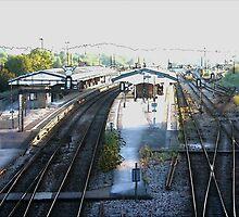 Westbury Railway Station by johnslipimages