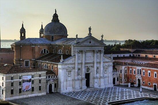 San Giorgio Maggiore Basilica by Tom Gomez