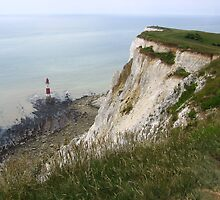 Lighthouse, Beachy Head, England 2010 by J.D. Grubb