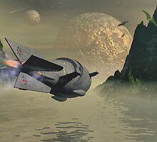 Flash Gordon & Mongo's Sea of Mystery by Bill Marsh