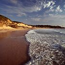 Pebbly beach, central coast, nsw by Adam  Smith
