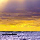 Outrigger at dusk by jjshoots