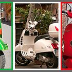 Vespa Triptych (best viewed larger) by Stephen Knowles