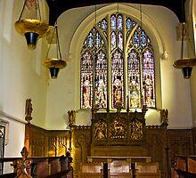 St Olave's - Marygate - York by Trevor Kersley