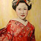 Geisha I by Jen  Biscoe