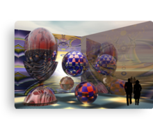 The Exhibition Canvas Print