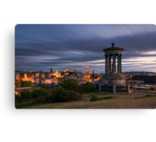 Edinburgh Midsummer Night Canvas Print