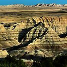 Late Afternoon-Badlands National Park by hastypudding