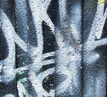 Abstract Graffiti Detail by jean-louis bouzou