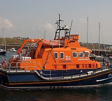 The William Gordon Burr  the Portrush Lifeboat by Jon Lees