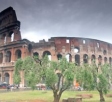 The Colosseum, Rome by Sue Knowles