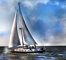 Ship Shape on The Sea by linaji