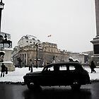 Snowy London by MaggieGrace