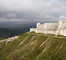 Krac Du Chevalier Castle in Syria by tmyusof