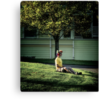 How to let a tree grow out of your head Canvas Print