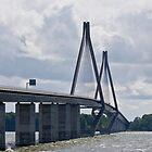 Bridges in Denmark - The Farø Bridges  by imagic