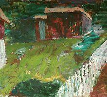 Farmyard by Anders Lidholm