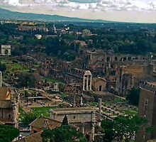 Ancient Rome, Italy by Al Bourassa