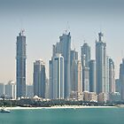 Dubai Day Scape by Jakov Cordina