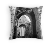 Arches of Timoleague Throw Pillow