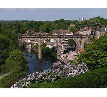 Knaresborough Railway Viaduct Photographic Print