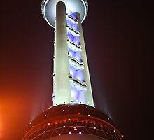Oriental Pearl Tower - Shanghai by Daniel Robertson