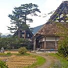 Traditional Japanese house. by johnrf