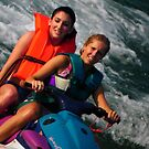 Jet-skiing on Lake Cumberland by Atheum