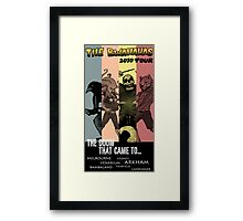 The Doom That Came to... Framed Print