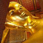 Giant Reclining Buddha, Bangkok, Thailand by Amaterasu
