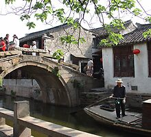 Oldest Bridge; Tongli, Suzhou, China by Amaterasu