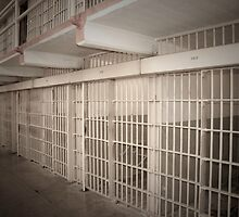 Alcatraz Cell Block by Tim Topping