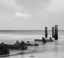 Steetley - old jetty by PaulBradley