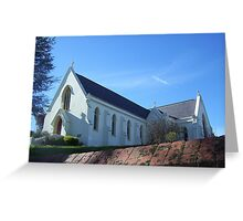 White church Greeting Card