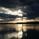 Evening Skies Over Lake Orsa by HELUA