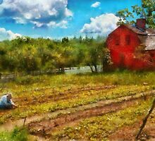 Farm - Farm Work  by Mike  Savad