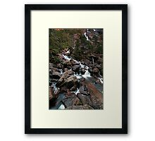 St Columbia Falls Framed Print