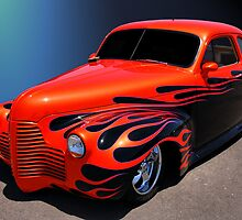 Oldsmobile circa 1940 by WildBillPho