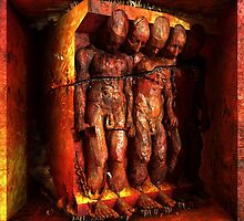 """Ecce Homo 95 """"HEAVEN IS HELL"""" by Polygonist"""