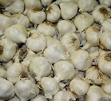 Fresh Produce - Garlic by Paulette1021