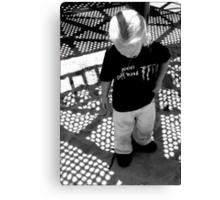 Shadowplay: Playing in Shadows Canvas Print