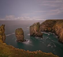 Elegug Stacks  by eddiej